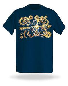 Van Gogh TARDIS Shirt | ThinkGeek