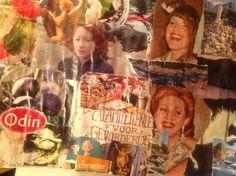 Collages plakken, elke dinsdag avond vanaf 18.00 uur. Di VIno,Boomstraat 41 Amsterdam. Trudy@insearchforthebest.nl