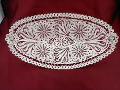 silver filigree salver