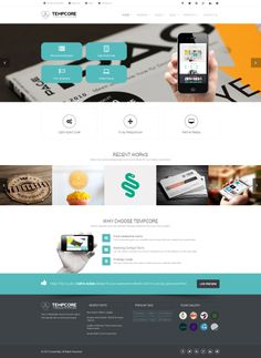 Tempcore - #Business #HTML5 #Template