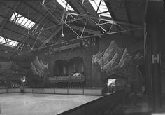 Interior of the Glaciarium Ice Rink, Sydney, May 1940 / photographer Sam Hood