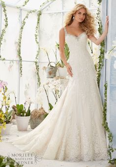 Mori Lee - 2822 - All Dressed Up, Bridal Gown