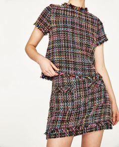 Vogue Fashion, Fashion 2020, Look Fashion, Womens Fashion, Petite Fashion, Tweed Outfit, Tweed Dress, Tweed Chanel, Dress Chanel