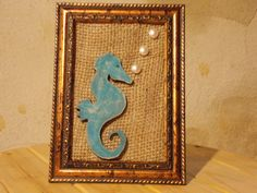 Hey, I found this really awesome Etsy listing at https://www.etsy.com/listing/293269013/seahorse-framed-home-decor