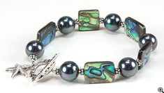 Jewelry Making Idea: Ocean Treasure Bracelet (eebeads.com)