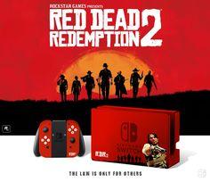 Nintendo Red Dead Redemption 2, Collector edition. joycon, nintendo switch, dock, joy-con
