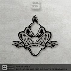 Funny Bone Fish Death Skull Skeleton Vinyl Decal by StickerMasters Fish Drawings, Art Drawings, Dibujos Tattoo, Shark Art, Cartoon Fish, Wood Burning Patterns, Steel Art, Wow Art, Scroll Saw Patterns