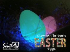 DIY glow in the dark plastic Easter eggs played around the party area add to the theme of your HOP movie party.