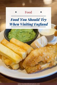 A blog post suggesting some of the best food to try when you visit England. From classic dishes like fish and chips, tasty deserts such as spotted dick to great snacks such as Sausage Rolls.     #uk #england #travel #dishes #dish #food #english #british #travel