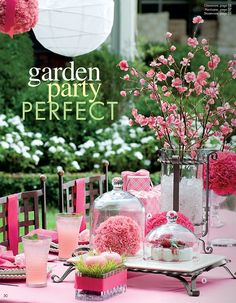 Create Lovely Garden Parties with Willow House Products from Hurricanes to Domes!  http://gwenhay.willowhouse.com