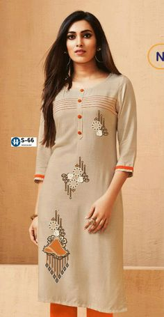 Neckline Designs, Kurti Neck Designs, Kurta Designs Women, Simple Outfits, Simple Dresses, Dresses For Work, Embroidery On Clothes, Embroidery Suits, Stylish Dress Designs