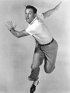 Gene Kelly, an athletic dancer and the perfect partner.