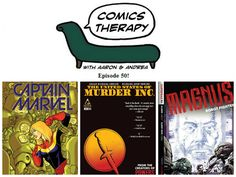 Episode 50! http://www.comicstherapy.com/2014/07/episode-50-getting-angry-never-solved.html