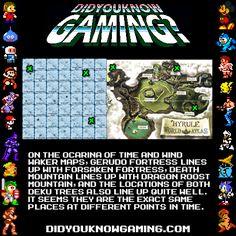 The Legend of Zelda: Ocarina of Time, Wind Waker Zelda Map, Link Zelda, Gaming Facts, Deku Tree, Twilight Princess Hd, Retro Videos, Wind Waker, Breath Of The Wild, Geek Girls