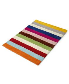 Patternology - Large Striped Rug (121 x 182cm) - Patternology - Mamas & Papas