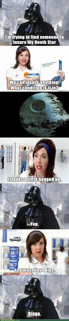 Darth Vader vs. Fran #StarWars