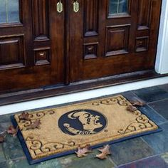 Florida State Seminoles, Door Mat...I've wanted this ever since I saw it…