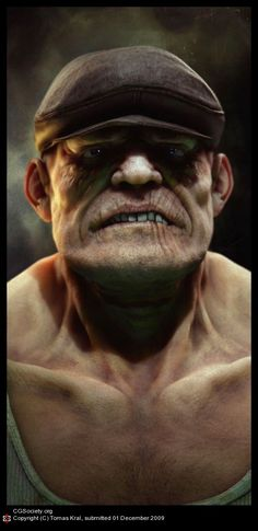 The Goon by Tomas Kral | 3D | CGSociety