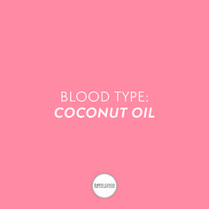 Blood type: Coconut oil  #dayococo #finecoconutgoods #vegan #organic #welovecoco #coconut #organicproducts #coconutoil #healthy #surfin #naturalproducts #blog #kokosöl #quote #bali #hawaii #australia #coconutoilbenefits #fitfood #skincare Oil Quote, Benefits Of Coconut Oil, Bali, Hawaii, Blood, Skincare, Organic, Australia, Vegan