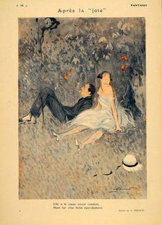Fantasio  'Apres La Joie' 1926  Art by A. FŽcoud