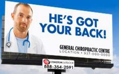 44 Best Chiropractic Advertisement And Billboard Ideas