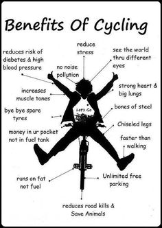 Benefits Of Cycling.