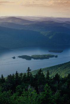 Black Mountain, Lake George, New York, USA