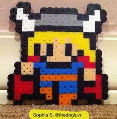 Perler Beads - Thor by Sophia S.