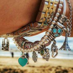 sweet pandora and Tiffany bracelets