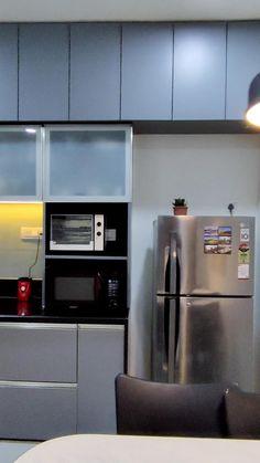 Kitchen Bar Design, Kitchen Cupboard Designs, Home Decor Kitchen, Small House Interior Design, Home Design Living Room, Interior Design Kitchen, Kitchen Modular, 3d Home, Decoration