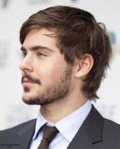 2014 Men's Beard and Mustache trend  | Zac Efron beard haircut 2013 2014 trends