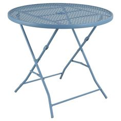 Metal Punch Folding Patio Bistro Table - Threshold - Room Essentials™ : Target
