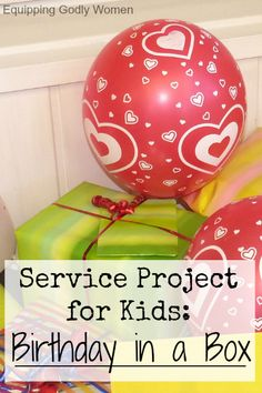 What a fun community service project for kids! Everyone deserves to have a happy birthday.