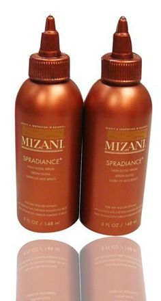 "Mizani Spradiance High Gloss Serum 148 ml""Pack of 2"" by MIZANI. $36.66. Mizani Spradiance High Gloss Serum 148 ml. SPRADIANCE HIGH GLOSS SERUM Provides a high gloss shine without the greasy build-up finish. DIRECTIONS : Apply a dime size amount into palm, rub together and work product evenly through the hair. INGREDIENTS : FIL CODE 42047 SS2 CYCLOPENTASILOXANE, HYDROGENATED POLYISOBUTENE, DIMETHICONE, FRAGRANCE/PARFUM."