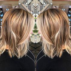 Medium Length Blonde Hairstyles Vino - 30 chic everyday hairstyles for shoulder length hair 2019 Long Bob Haircut With Bangs, Long Bob Haircuts, Haircuts With Bangs, Hairstyles Haircuts, Cool Hairstyles, Hairstyle Ideas, Cute Medium Haircuts, Trending Hairstyles, Medium Hair Cuts