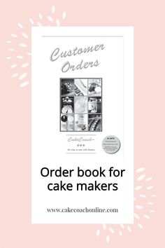 Discovering that one of the details is wrong on a completed cake is the worst feeling. And knowing that the customer is on their way to collect it is worse. Having a proper system to take down orders AND get a customer to approve those details with a signature and payment is important. This pad is NCR (no carbon required). Keep a copy for yourself and give one to your customer. Perfect for ongoing records and keeping all the necessary details in one place. Read our blog to find out more...