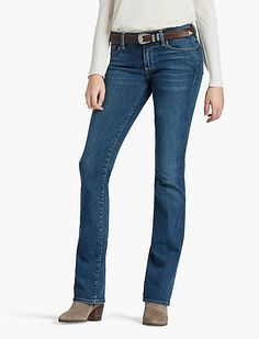 <p>A relaxed fit with a just-right mid-rise, classic bootcut, and available in Ultra Luxe, Sweet is your can't-wait-for-the-weekend jean. </p><ul><li>Relaxed fit with a boot (18 inch) leg opening</li><li>Mid-rise (8.75 inch front rise and 13.5 inch back rise)</li></ul>