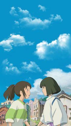 Anime Wallpaper Live, Anime Scenery Wallpaper, Kawaii Wallpaper, Cartoon Wallpaper, Studio Ghibli Art, Studio Ghibli Movies, Anime Gifs, Anime Art, Studio Ghibli Background