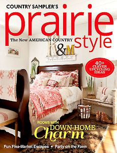 Magazines - Prairie Style - Country Sampler's Prairie Style Winter 2017