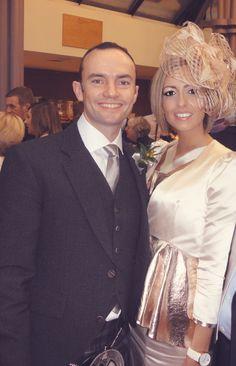 Antoinette Fionda-Douglas wearing the Antoinette gown designed exclusively by Eleganza Collezioni #MadetoMeasure #EleganzaSposa #EleganzaCollezioni #Scotland #weddings #design #MadeinBritain #couture #bespoke #weddingdress #bridaldesigner #eveningwear #occasionwear #weddingguest #bridalboutique #Glasgow