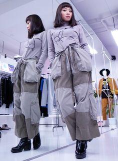 ECKHAUS LATTA - AW 15-16 Styles. http://blog.raddlounge.com/?p=44245  #coordinate #outfit #ootd #raddlounge #shibuya #jinnan #tokyo #japan #selectshop #collection #eckhauslatta