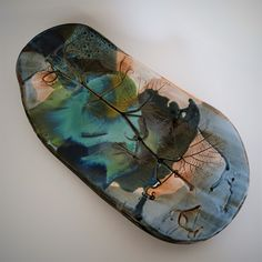 Dish by Liliana Sousa Autumn Leaves, Surfboard, Dish, Fall Leaves, Plates, Dishes, Plate