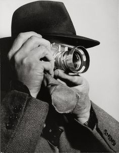 Henri Cartier-Bresson with Leica M3 (with Summarit 1,5/50mm), 1955 -by Dimitri Kessel [+] [+] Dmitri Kessel was born in the Ukraine in 1902. At the age of 13, his father gave him his first camera. The owner of a sugar plantation thereby influenced his son's path in life profoundly. After escaping from Russia, Dmitri Kessel immigrated to America in 1923. During the course of his 60-year career, he worked as a war correspondent, industrial photographer and photo journalist for Life. Kessel ...