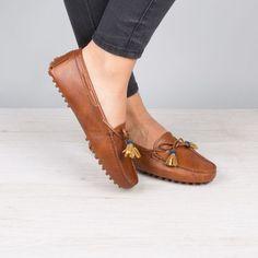 Tendance Chaussures 2017/ 2018 : Mocassins cognac - L'Amérindienne