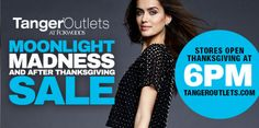 Black Friday-Moonlight Madness Tanger Outlets #FoxwoodsResortCasino - http://extremecouponprofessors.net/2015/10/black-friday-moonlight-madness-tanger-outlets-foxwoodsresortcasino/