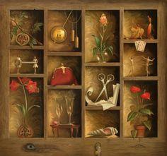 Matrix of Love by Vladimir Kush