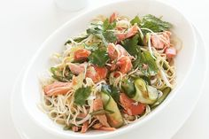 Looking for a fantastic tasting meal in a hurry? Look no further than this Japanese style noodle dish with smoked trout for extra flavour. Easy Japanese Recipes, Asian Recipes, Healthy Recipes, Ethnic Recipes, Easy Summer Meals, Summer Recipes, Miso Recipe, Trout Recipes, Smoked Trout