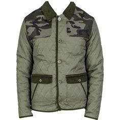 LAVENHAM Halesworth Elbow Patch Jacket Spruce | Men's Quilt Jacket ... : mens quilted jacket with shoulder patch - Adamdwight.com