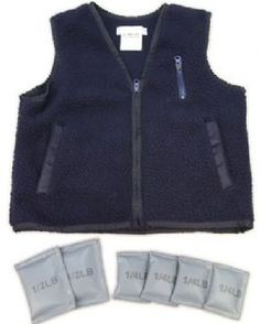 When my son was still in single-digits, I sewed several weighted vests for him. (We used modeling clay in Ziploc bags for weight).  He passed them down to a hyperactive sibling.  The vests were very helpful whenever I took the kids out into stimulating environments (the grocery store!)
