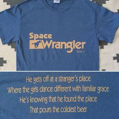 709646c33 Widespread Panic Inspired-Space Wrangler Lot Shirt-Adult Uni T Lyric Shirts,  Widespread